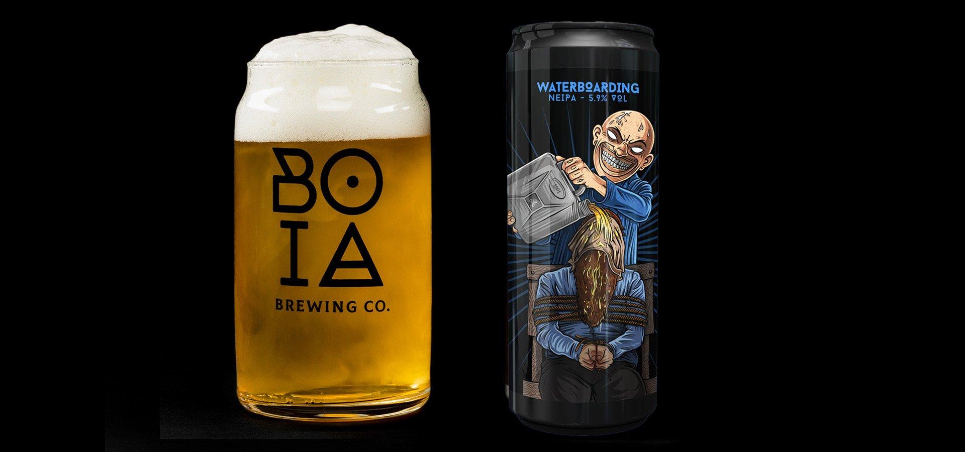 boia brewing co waterboarding
